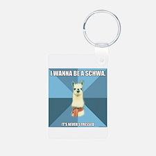 Schwa/Sneeze Keychains