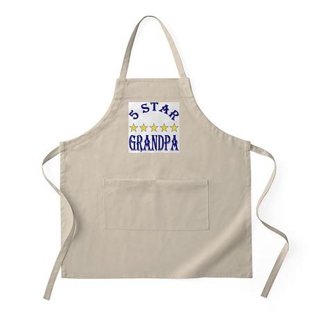 5 Star Grandpa BBQ Apron