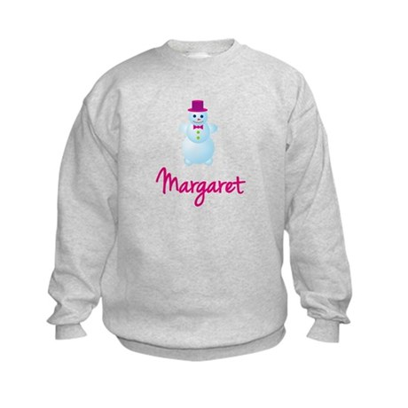 Margaret the snow woman Kids Sweatshirt