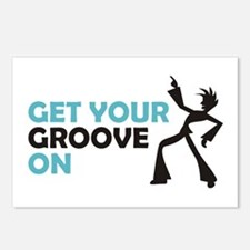 Get Your Groove On Postcards (Package of 8)