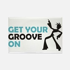 Get Your Groove On Rectangle Magnet