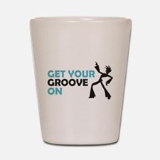 Get Your Groove On Shot Glass
