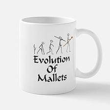 funny mallet evolution Mug