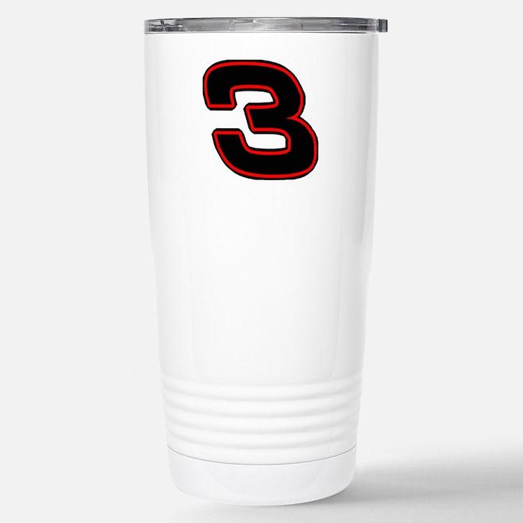 DE3blk Travel Mug