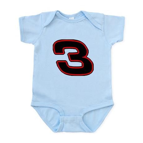 DE3blk Infant Bodysuit