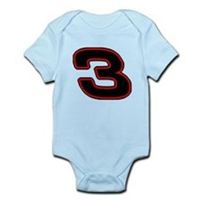 DE3blk Infant Bodysuit
