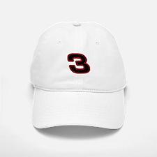 DE3blk Baseball Baseball Cap