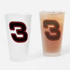 DE3blk Drinking Glass