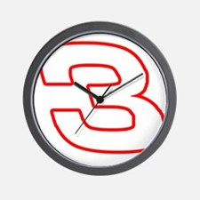 DE3wht Wall Clock