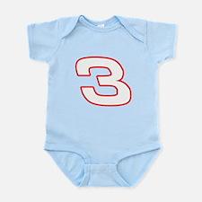 DE3wht Infant Bodysuit