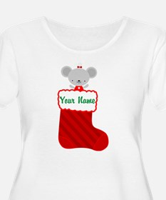 Personalized Christmas Mouse T-Shirt