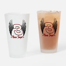 DE3wings Drinking Glass