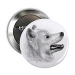 Samoyed Button