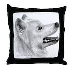 Samoyed Throw Pillow
