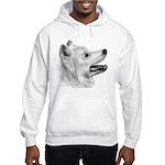 Samoyed Hooded Sweatshirt