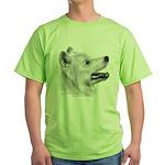 Samoyed Green T-Shirt