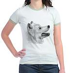 Samoyed Jr. Ringer T-Shirt