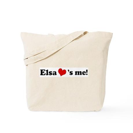 Elsa loves me Tote Bag