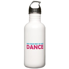 Pick Up Your Feet and Dance Water Bottle