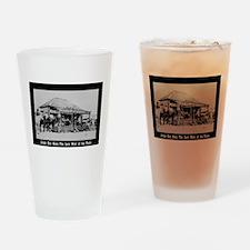 Judge Roy Bean Drinking Glass