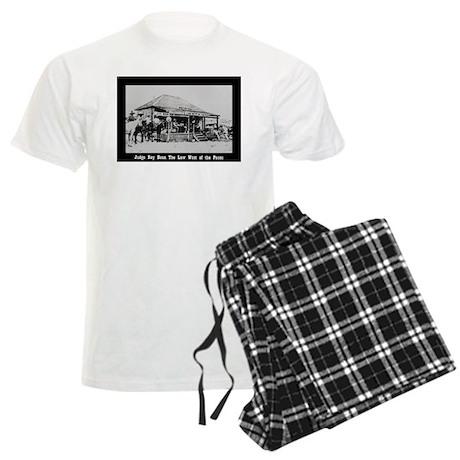 Judge Roy Bean Men's Light Pajamas