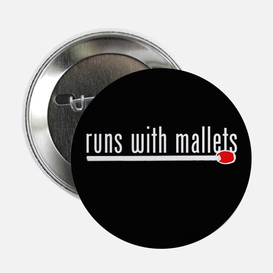 """funny mallet 2.25"""" Button"""