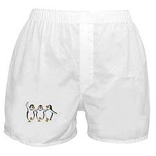Penguins Dancing Boxer Shorts