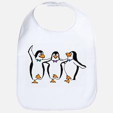 Penguins Dancing Bib