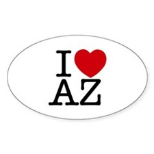 I Heart Arizona Decal