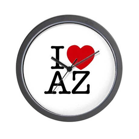 I Heart Arizona Wall Clock