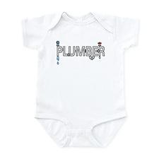 Plumber Pipes Infant Bodysuit