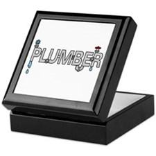 Plumber Pipes Keepsake Box