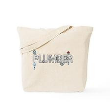Plumber Pipes Tote Bag