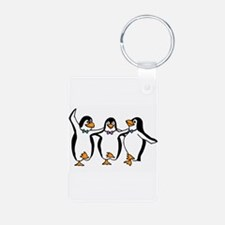 Penguins Dancing Keychains