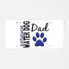 Portuguese Water Dog 2 Aluminum License Plate