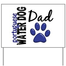 Portuguese Water Dog 2 Yard Sign