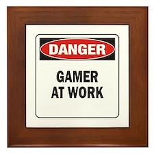 Gamer Framed Tile
