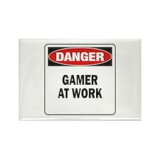 Gamer Rectangle Magnet