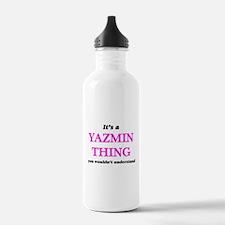 It's a Yazmin thin Water Bottle