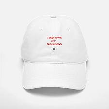 I Skip Work for GEOCACHING Baseball Baseball Cap
