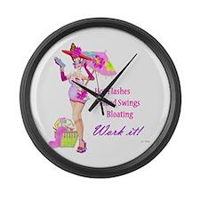 Divas!! Large Wall Clock