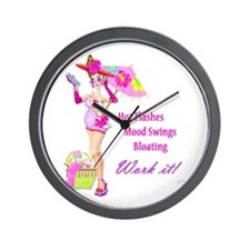 Divas!! Wall Clock