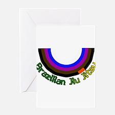 BJJ Loop - Colors of Progress Greeting Card