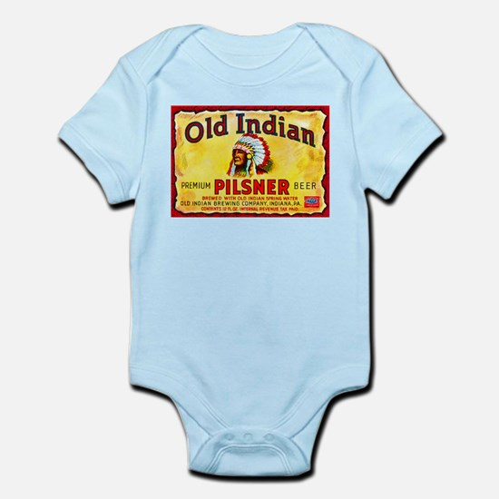 Pennsylvania Beer Label 8 Infant Bodysuit