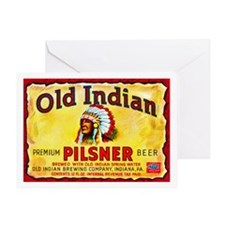 Pennsylvania Beer Label 8 Greeting Card