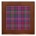 Tartan - MacDonald of Boisdale Framed Tile
