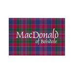 Tartan - MacDonald of Boisdale Rectangle Magnet (1