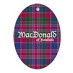 Tartan - MacDonald of Boisdale Ornament (Oval)