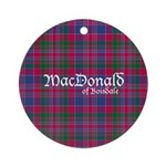 Tartan - MacDonald of Boisdale Ornament (Round)
