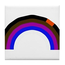 BJJ Loop - Colors of Progress Tile Coaster